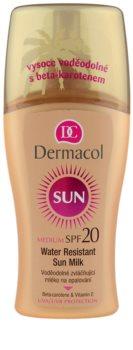 Dermacol Sun Water Resistant lait solaire waterproof SPF 20