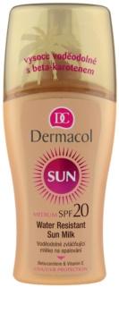 Dermacol Sun Water Resistant wodoodporne mleczko do opalania SPF 20