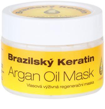 Dermagen Brazil Keratin Argan Oil výživná regenerační maska pro všechny typy vlasů