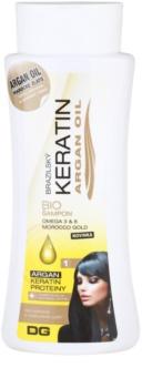 Dermagen Brazil Keratin Argan Oil champú bio para cabello teñido y dañado