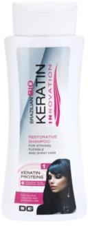 Dermagen Brazil Keratin Innovation erősítő sampon a festett és károsult hajra