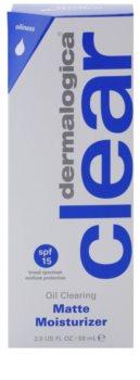 Dermalogica Clear Start Oil Clearing hidratáló, mattító fluid SPF15