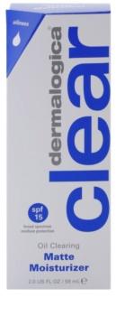 Dermalogica Clear Start Oil Clearing loción hidratante matificante  SPF 15
