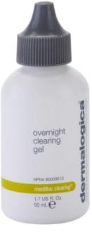 Dermalogica mediBac clearing éjjeli hidratáló gél pattanás kialakulása ellen