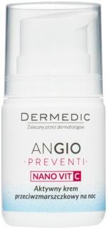 Dermedic Angio Preventi crème de nuit anti-rides