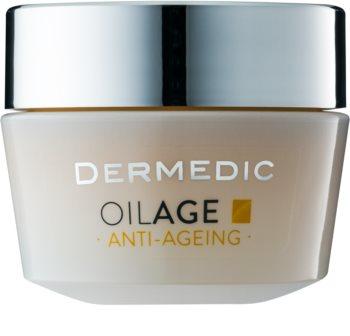 Dermedic Oilage regeneratieve nachtcrème voor het herstellen van de huiddichtheid