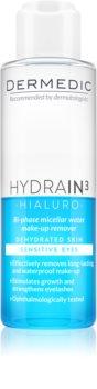 Dermedic Hydrain3 Hialuro eau micellaire bi-phasée yeux
