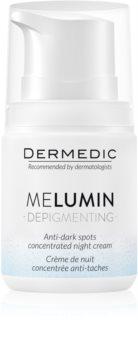 Dermedic Melumin crema de noapte impotriva petelor intunecate