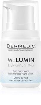 Dermedic Melumin Night Cream To Treat Dark Spots