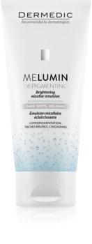 Dermedic Melumin Cleansing Micellar Emulsion For Skin With Hyperpigmentation