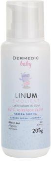 Dermedic Baby baume léger corps pour peaux sèches à atopiques
