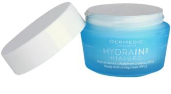 Dermedic Hydrain3 Hialuro crème hydratante en profondeur SPF 15