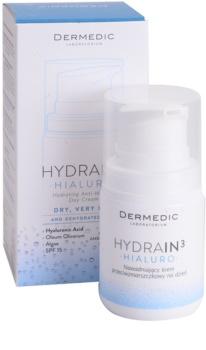 Dermedic Hydrain3 Hialuro hydratisierende Tagescreme gegen Falten