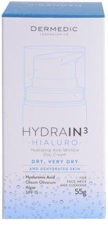 Dermedic Hydrain3 Hialuro hidratáló nappali krém a ráncok ellen