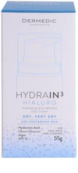 Dermedic Hydrain3 Hialuro hydratačný denný krém proti vráskam