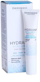 Dermedic Hydrain3 Hialuro crème yeux pour peaux déshydratées et sèches