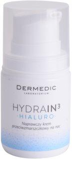 Dermedic Hydrain3 Hialuro crema hidratanta de noapte antirid