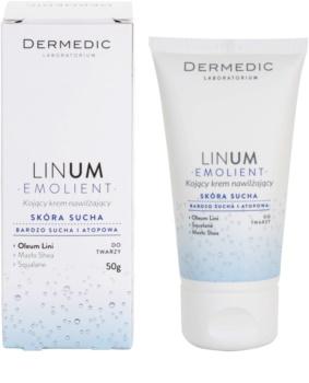 Dermedic Linum Emolient beruhigende und hydratisierende Creme für trockene bis atopische Haut