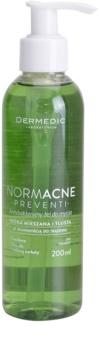 Dermedic Normacne Preventi antibakteriální čisticí gel pro mastnou a smíšenou pleť
