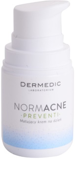 Dermedic Normacne Preventi zmatňujúci denný krém pre mastnú a zmiešanú pleť