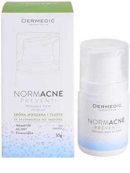 Dermedic Normacne Preventi mattító nappali krém kombinált és zsíros bőrre