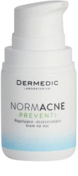 Dermedic Normacne Preventi Night Regulating And Cleansing Cream