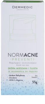 Dermedic Normacne Preventi crema de noapte pentru curatare si regenerativa