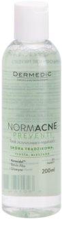 Dermedic Normacne Preventi beruhigendes Reinigungstonikum für fettige und Mischhaut
