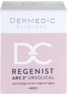 Dermedic Regenist ARS 3° Ursolical stymulujący i regenerujący krem na noc