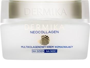 Dermika Neocollagen stärkende Creme zur Reduktion von Falten 50+