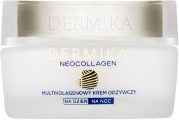 Dermika Neocollagen nährende Creme zur Reduktion von Falten und welker Haut 70+