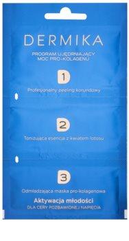 Dermika 1. 2. 3. třífázová zpevňující péče pro zralou pleť