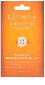 Dermika 1. 2. 3. soin revitalisant triphasé pour peaux fatiguées