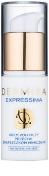 Dermika Expressima crème yeux anti-rides d'expression