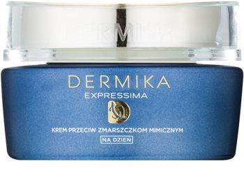 Dermika Expressima crème de jour hydratante anti-rides d'expression