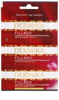 Dermika Fill & Go protivrásková regenerační maska na oční okolí