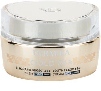 Dermika Gold 24k Total Benefit crema lux de intinerire 45+