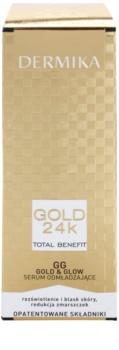 Dermika Gold 24k Total Benefit sérum rajeunissant pour une peau lumineuse et lisse