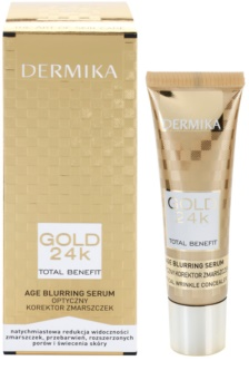 Dermika Gold 24k Total Benefit verjüngerndes Anti-Aging Serum gegen die Zeichen des Alterns