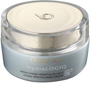 Dermika HydraLOGIQ revitalisierende Tagescreme für normale und trockene Haut