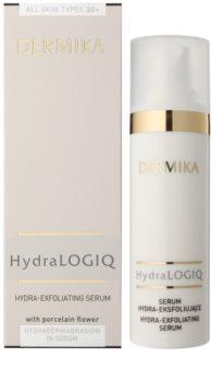 Dermika HydraLOGIQ hidratáló krém bőrhámlasztó hatással 30+