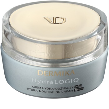 Dermika HydraLOGIQ Night Nourishing Cream With Moisturizing Effect
