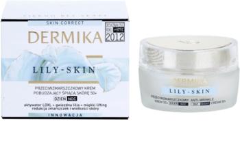 Dermika Lily Skin stimulierende Anti-Falten Creme für müde Haut