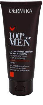 Dermika 100% for Men upokojujúci balzam po holení