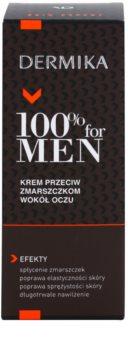 Dermika 100% for Men protivráskový oční krém