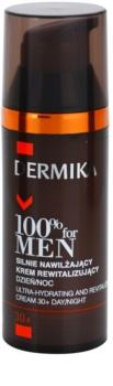 Dermika 100% for Men crème extra hydratante et revitalisante 30+