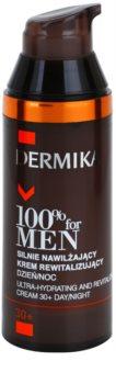 Dermika 100% for Men Ultra Hydraterende en Revitaliserende Crème  30+