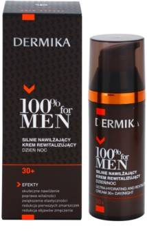 Dermika 100% for Men crema revitalizante hidratación profunda 30+