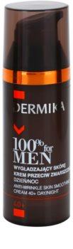 Dermika 100% for Men crema lisciante antirughe 40+