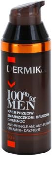 Dermika 100% for Men Krém a mély ráncok ellen 50+